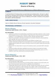 Rn Professional Resumes Director Of Nursing Resume Samples Qwikresume