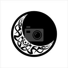 Fototapeta Tetování Měsíc Měsíc