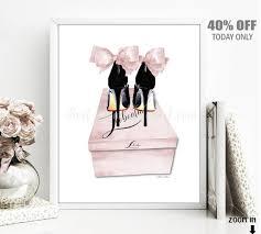 blush pink high heels shoe box fashion