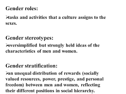 gender ppt  16 gender stratification