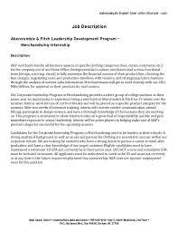 Engineering Internship Cover Letter Fashion Internship Cover