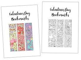 One of my categories is promises. Coloring Valentine S Day Bookmarks Free Printable