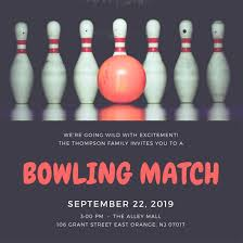 Bowling Invitation Custom Customize 44 Bowling Invitation Templates Online Canva