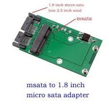 """Mini PCIe PCI-e MSATA SSD To 1.8"""" Micro SATA Adapter Converter Card PCBA    eBay"""