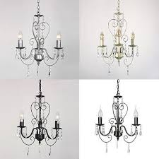 3 way ceiling chandelier light traditional pendant fitting lamp lillie classic