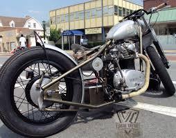 visual imapct xs650 bobber build bikermetric