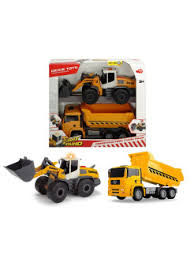 <b>Набор</b> Construction Twin Pack 30 см свет звук <b>Dickie Toys</b> ...