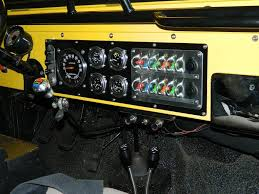 re wire new gauges and dash switch panel project jeep cj forums