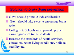 brain drain presentation  18 solution to brain drain preventionsolution