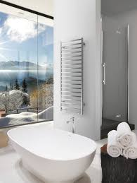 Electric towel radiator / metal / contemporary / vertical SLIM Q ELECTRIC  DELTACALOR
