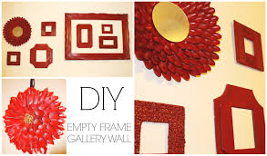 gallery wall with diy frames room decor jessica joaquin you