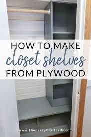 diy entry closet shelves an easy