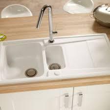 Blanco Setura 15 Bowl Ceramic Sink With Reversible Drainer Bq Kitchen Sinks And Taps