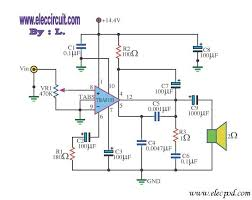 car power amp circuit diagram wirdig 7w power amp car audio ic tba810 circuit wiring diagrams
