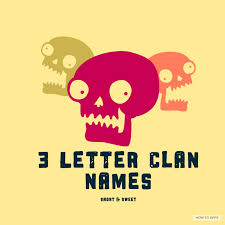 good clan names to make your enemy