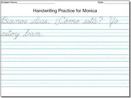 Hand Writing Sheets Mommy Maestra Free Diy Handwriting Worksheets