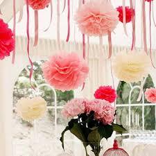 Tissue Paper Pom Poms Flower Balls Sale 10pcs Lot 20cm Wedding Decorative Props Tissue Paper