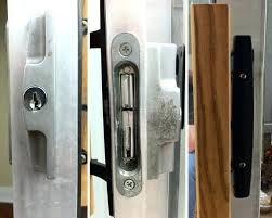 replacing keyed door hardware on a sliding glass patio door sliding patio door locks a customer
