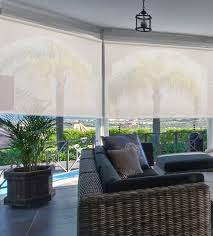outdoor shades block wind rain and sun