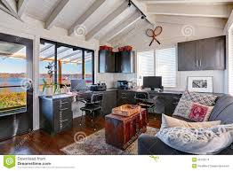 beautiful bright office. american beautiful bright office