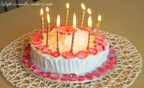 happy birthday cakes with candles for best friend.  Birthday Cook Like Priya Rose Cake For A Wonderful Husband  Happy Birthday  Darling  Intended Cakes With Candles For Best Friend K