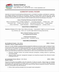 Substitute Teacher Resume Delectable Substitute Teacher Resume Objective Top Teacher Resume Example