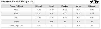 Salomon Quest Ski Boot Size Chart Becky Chain Reaction