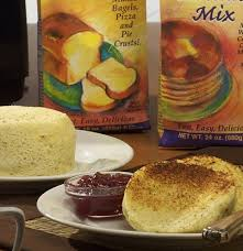 amazing bread in about a minute with lots of diffe options for variety makes one hamburger bun or bread roll using pamela s baking and pancake mix