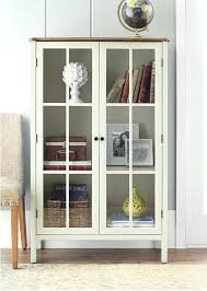 storage cabinet with glass door glass door cabinets living room lovely tall display cabinet storage furniture