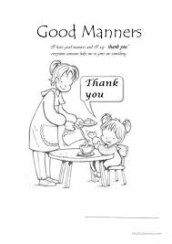 Good Manners Worksheet Free Worksheets Library   Download and ...