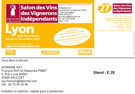 26 au 30 octobre 2017 salon des vignerons independants de lyon