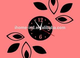 room decor embellishment art acrylic sheet 3d wall clocks with