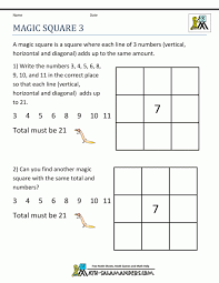 Math : Number Square Puzzles 100 Worksheets Number Puzzle 2 ...