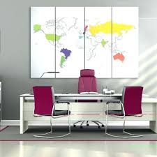 ikea wall maps world large world map canvas extra travel push pin colorful framed wall art