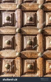 old door antique wooden door background