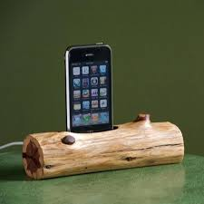 wooden phone charging station wooden log docking station diy wooden charging station wooden phone charging station