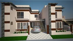First Floor House Design Pictures 7 Marla House Design Model Has 1 Bedroom With Attached