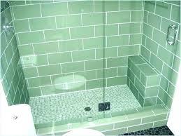 cost to install ceramic tile labor per square foot shower floor idea installation sq ft
