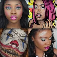 black women dark skin makeup tutorials