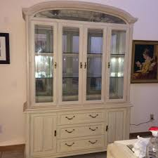 China Cabinet With Hutch Keller China Cabinet Buffet Hutch Sandstone Solid Oak Glass Door
