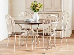 magnolia home breakfast table and pea side chairs this metal pea chair is one of those pieces that you just like to look at with its vine
