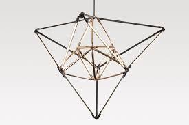 new modern lighting. bec brittainu0027s new modern geometric lighting b