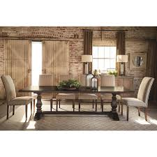 bassett dining tables harvest 4015 4208 aged bridle rectangular
