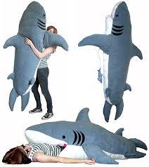 Giant Shark Pillow Shark Sleeping Bag Pillow 2649 Shining Inspiration 15 On  Home Design Ideas