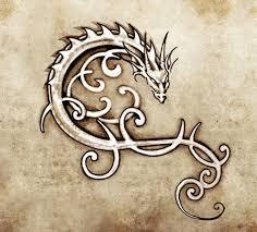 тату дракона на бумаге тату дракона на бумаге эскиз тату
