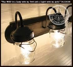 Vintage vanity lighting Retro Load Image Into Gallery Viewer Mason Jar Vanity Light Fixture Vintage Pint The Lampsusa Mason Jar Vanity Light Fixture Vintage Pint The Lamp Goods