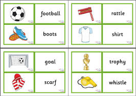 vocab cards with pictures vocabulary matching cards