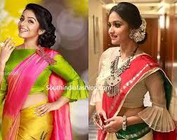 Designer Blouse Patterns For Pattu Sarees Pattu Saree Blouse Designs 2019 Pattu Saree Blouse Designs