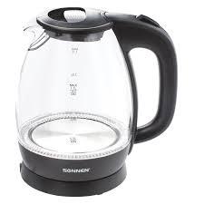 Купить <b>Чайник SONNEN</b> KT-1786, 1,7 л, 2200 Вт, закрытый ...