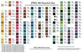 Tie Dye Mixing Chart Procion Dye Color Chart Mixing Color Mixing Chart How